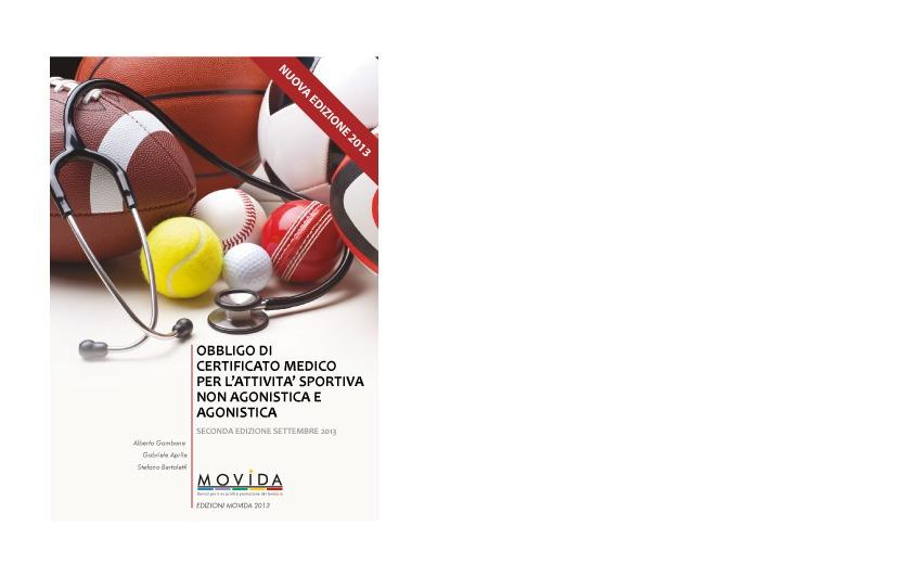 CERTIFICATO MEDICO ED. 2013.