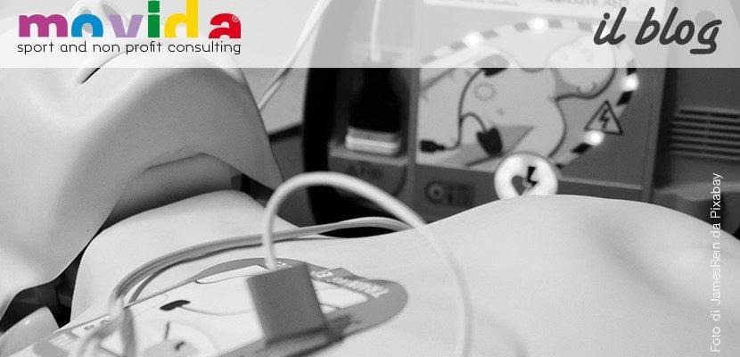 Obbligo defibrillatori in ASD e Società Sportive Dilettantistiche
